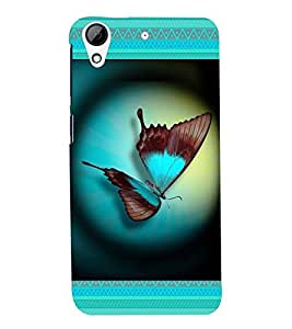 Fuson Lovely Butterfly Case Cover for HTC Desire728