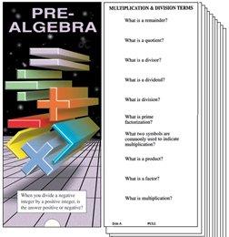 Study Slides Pre-Algebra - 1