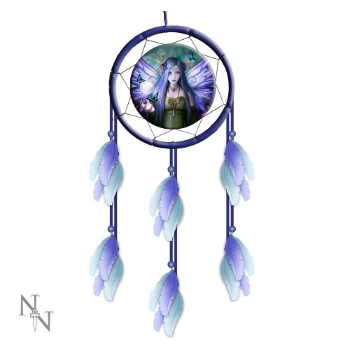 "Nemesis Now 13""Mystic Aura Acchiappasogni Blu"