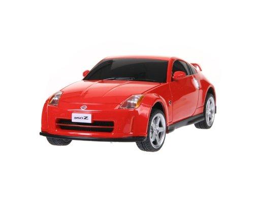 RASTAR Nissan 350Z 27700 1:24 6 Channel Remote Control Car Model (Red)
