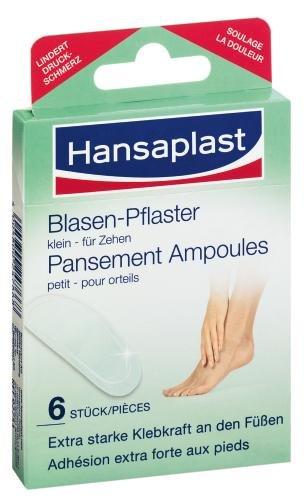 Hansaplast 92751 Blasenpflaster klein 6 Stück