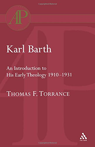 Karl Barth: Introduction to Early Theology (Academic Paperback)
