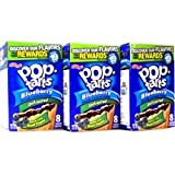 Kelloggs Blueberry Pop Tarts 416g (Pack of 3)