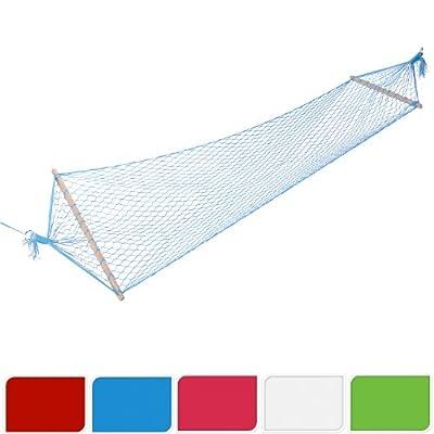 Hängematte Netzhängematte | 60 x 180 cm | bis 120 kg belastbar | 5 verschiedene Farben