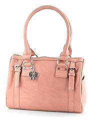 Butterflies Women's Handbag (Peach) (BNS 0259 PCH)