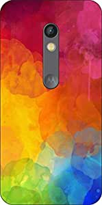 Go Hooked Designer Soft Back cover for Motorola Moto G (3rd gen) + Free Mobile Stand (Assorted Design)