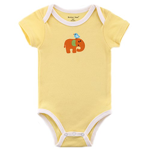 Solid Color Baby Onesies front-1031550