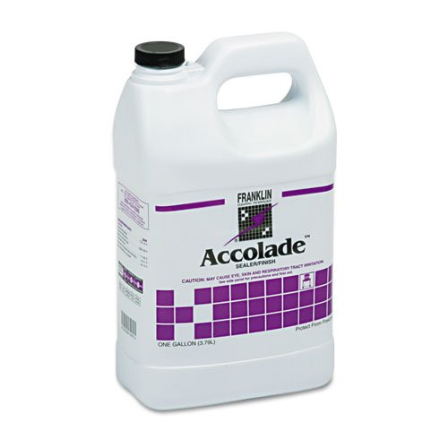Franklin Cleaning Technology® – Accolade Floor Sealer, 1 gal Bottle – Sold As 1 Each – Versatile, urethane-fortified sealer/finish for use on high-visibility, nonresilient flooring.