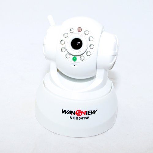 Wansview NCB-541W Home Business Security & Surveillance indoor camera, Network ip camera, with Infrared IR Night Vision Pan Tilt Function at Sears.com