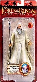 The Lord of the Rings : Two Towers Trilogy Series - Saruman the White (Saruman Action Figure compare prices)