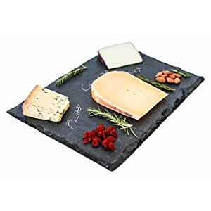 Amazon Com Top Shelf Living Slate Cheese Board 10 Quot X