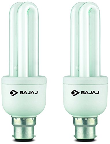 Retrofit Miniz 11 Watt CFL Bulb (Warm White,Pack of 2)