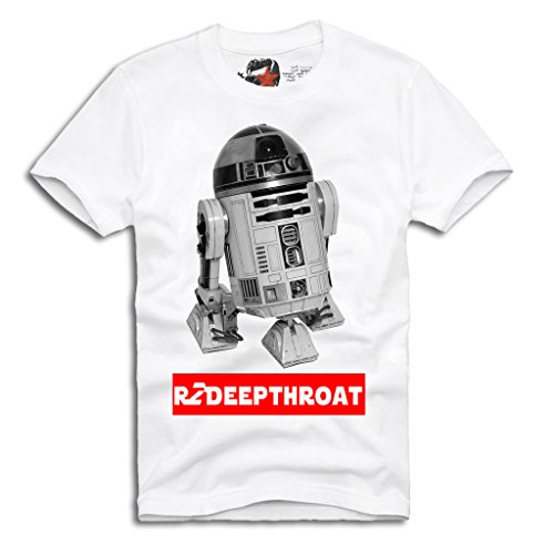 "E1SYNDICATE ""R2 DEEPTHROAT"" T-SHIRT EMMURE HARDCORE STAR WARS S/M/L/XL"
