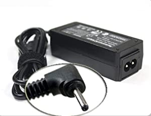 19V 2.1A 40W Replacement Laptop / Notebook AC - DC Adapter / Charger for Asus EEE PC 1001PXB, Eee PC 1015PEB, Eee PC 1215N, EEE PC 1201HAB, Eee PC 1005PEB, Eee PC 1008HA, Eee PC 1005PE, Eee PC 1015PED, with Free Power Cord