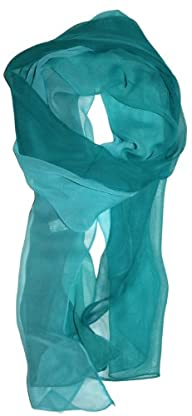 LibbySue-Silk Blend Ombre Oblong Chif…