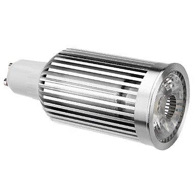 Gu10 10W 780-820Lm 2700-3500K Warm White Cob Led Spot Bulb (110-240V)
