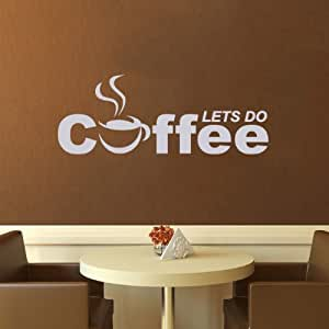 Cup Of Coffee Smoke Word Quote Coffee Lets Do Cafe Dining Room Ki