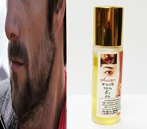 Beard Facial Hair Growth Booster Herbal Herb Serum: SIDE BURNS, Moustache 10ml