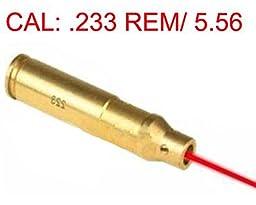 NuoYa001 CAL 223 Rem Gauge Laser Bore Sighter Boresight Red Dot brass fit