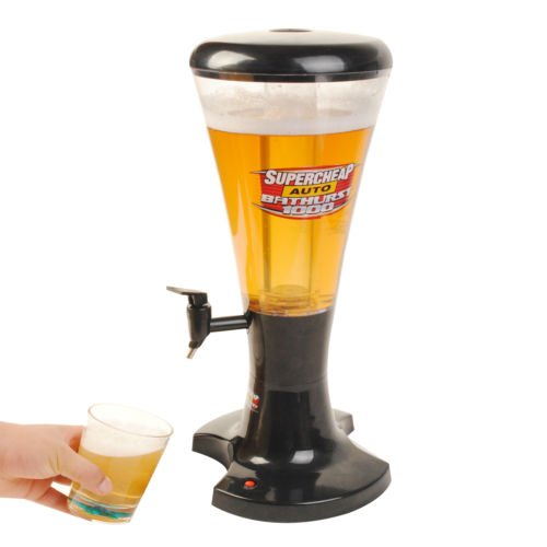 3l Draft Beer Tower Dispenser Plastic with LED Lights New (Draft Beer Fridge compare prices)