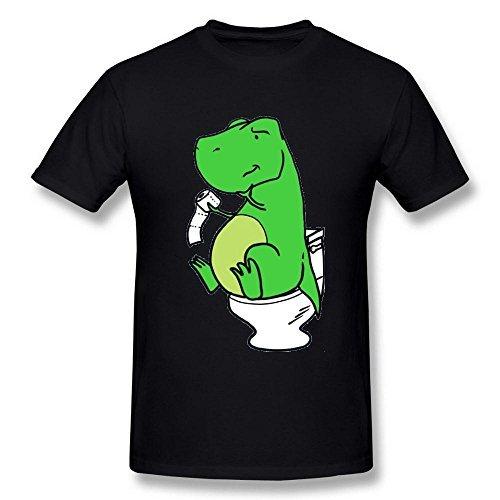 Uomo's Trex Hates Push Ups Funny Spoof DeepHeather T Shirt