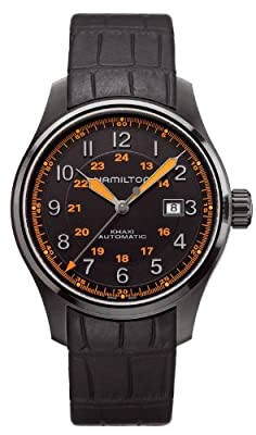 Hamilton Men's H70685337 Khaki Field GMT Watch
