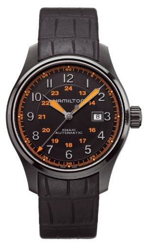 Hamilton Khaki Aviation H70685337 Reloj para hombres Legibilidad Excelente