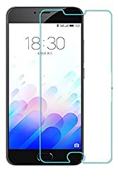 AA19 Tempered Glass for Meizu M3 Note, 0.3mm Pro+ Tempered Glass Screen Protector comes with Alcohol wet cloth pad & clean micro fibre Dry cloth For Meizu M3 Note
