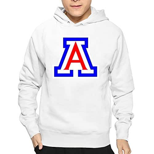 CORO Printed Girlfriend Arizona University White Hoodie Mens