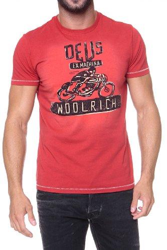 woolrich-herren-shirt-motiv-t-shirt-deus-ii-farbe-dunkelrot-grosse-m