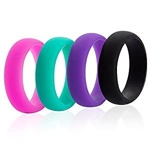 5.5mm 4-pack Silicone Rings (7.5) by Swagmat