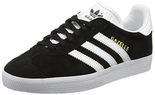 adidas Unisex-Erwachsene Gazelle Sneakers, Schwarz (Core Black/White/Gold Met), 38 2/3 EU thumbnail