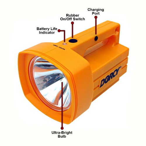Dorcy Flashlights: Dorcy 41-1035 Rechargeable Industrial