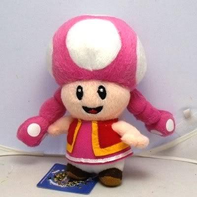 "7"" Super Mario Toadette Stuffed Animals Plush Toy Baby Dolls"