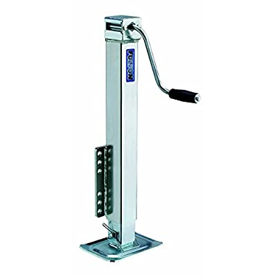 Fulton Bolt-On Trailer Tongue Jack with Drop Leg