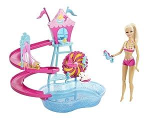 Barbie Puppy Water Park Playset