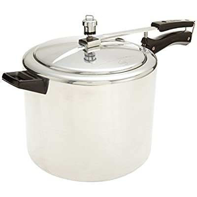 Hawkins Classic New Improved Small Aluminum Pressure Cooker, 6.5 Litres, Silver