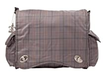 Kalencom Diaper Bag, Gray Plaid