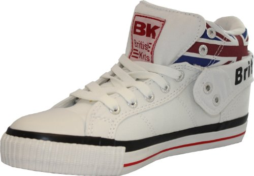 BK - ROCO white multi / union jack TEXTILE, B30-3797-01, High-Top Sneaker weiß Stoff