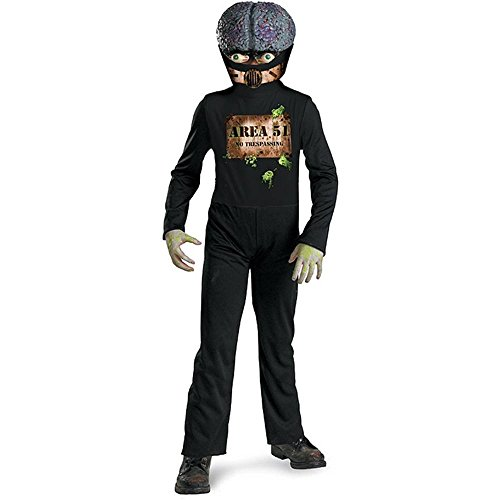 Area 51 Alien Kids Costume