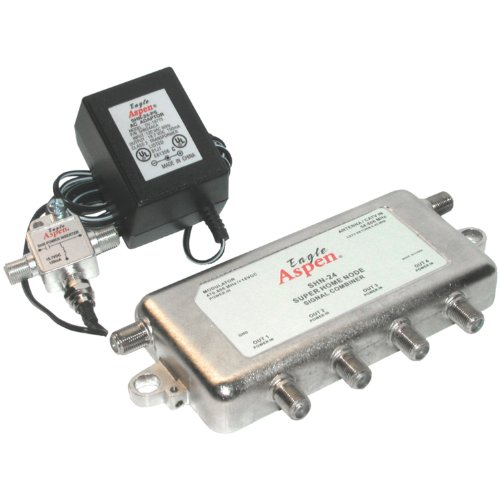 Eagle Aspen 500183 SHN 24-Kit Signal Combiner/Amplified 4-Way Splitter (Uhf Cable Modulator compare prices)