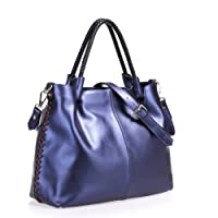 Fineplus New Fashion Bags Simple Split Cow Leather Shoulder Bags