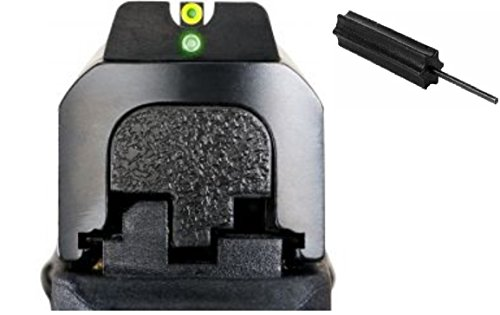 Ameriglo Sw-601 Pro I-Dot All M&P Models (Except Shield), I-Dot 2 Dot Night Sight Set Green Proglo Front W Limelumi Outline. Green Rear, Round Notch Rear + Ultimate Arms Gear Pro Disassembly 3/32 Pin Punch Armorers Gunsmith Tool