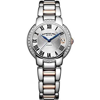 Raymond Weil Jasmine Automatic Silver Dial Stainless Steel Ladies Watch 2935-S5S-01659