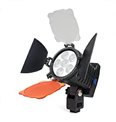 Powerpak LED 5010 Camera Video Light with Battery and Charger No. of LED'S - 6