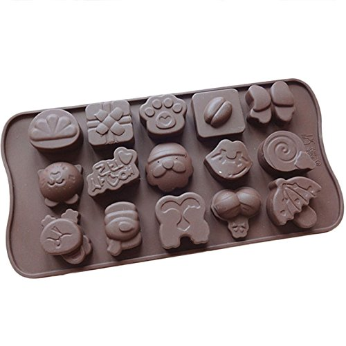 Sinuote Cat Candy Ice Cube Tray Chocolate Cake Cookie Muffin Make Molds front-515534