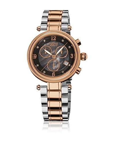 Burgi Reloj con movimiento cuarzo suizo Woman BUR080RG 38.0 mm