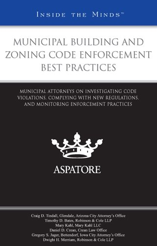 Municipal Building and Zoning Code Enforcement Best Practices - Thomson West - 0314907300 - ISBN:0314907300
