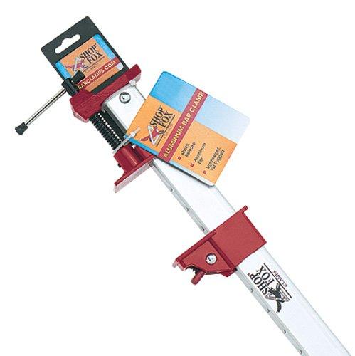 Shop Fox D2467 Aluminum Bar Clamp 48-InchB0000DD0N9