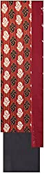 Payal Collection's Women's Cotton Unstitched Salwar (Red and Black)